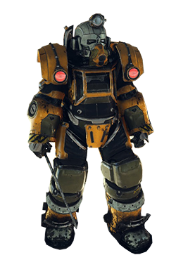 Excavator Power Armor | Fallout 76 Wiki