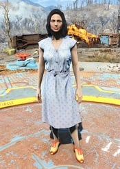 Laundered Blue Dress | Fallout 76 Wiki