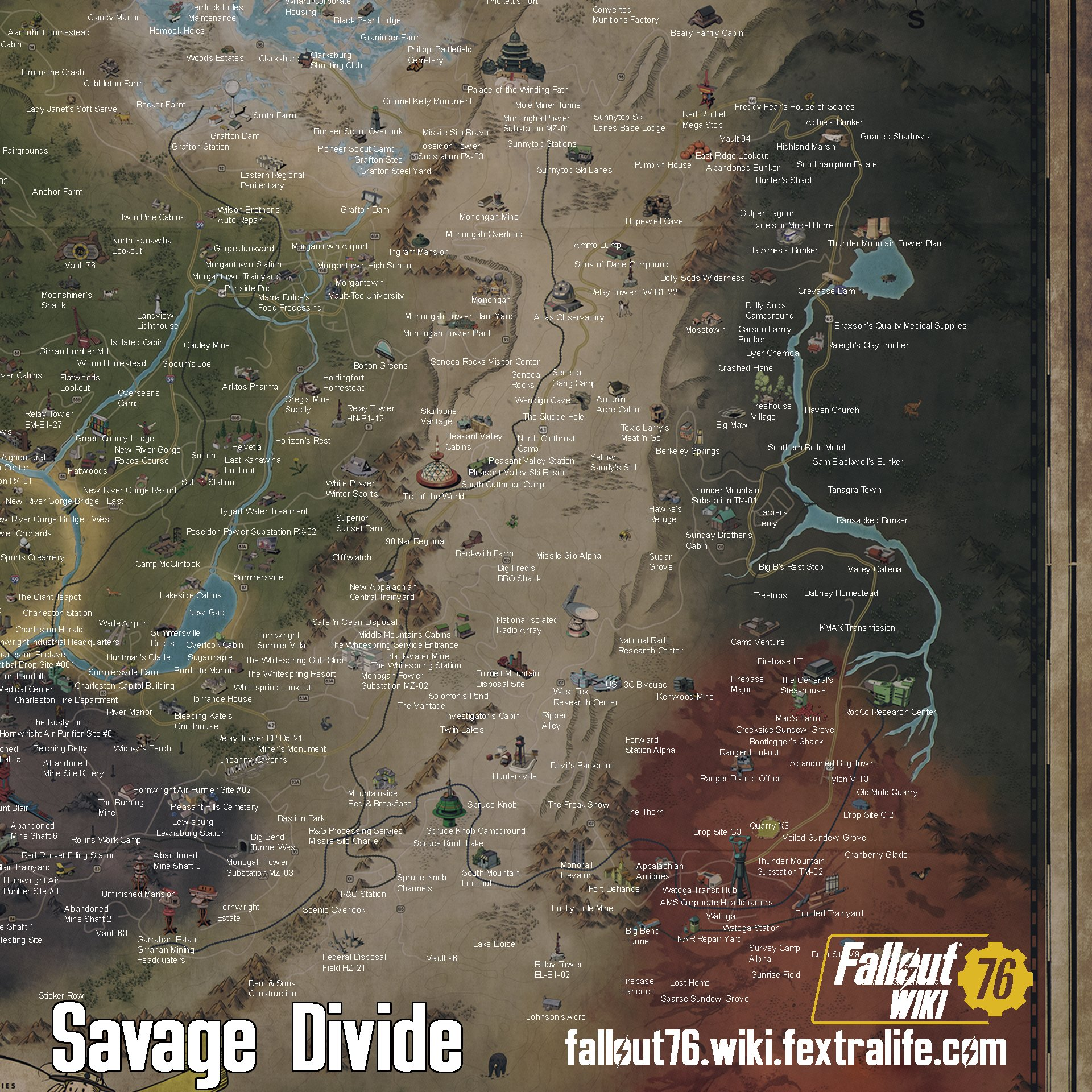 The Savage Divide | Fallout 76 Wiki