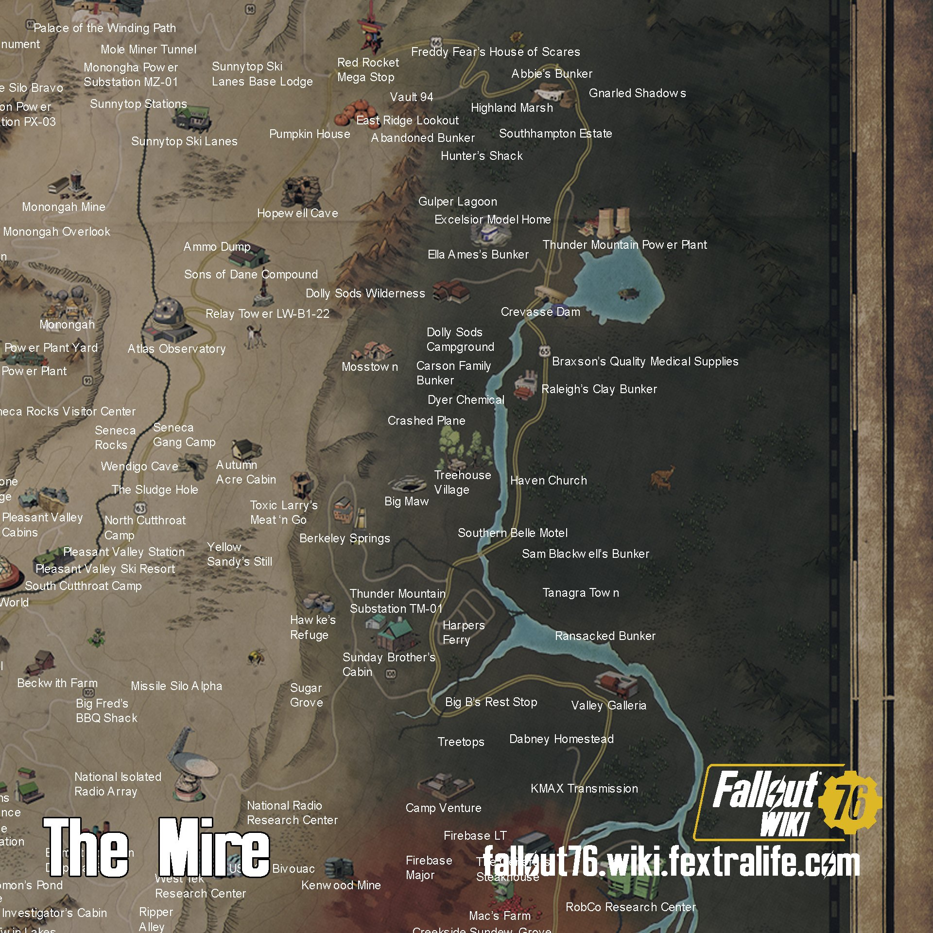 The Mire | Fallout 76 Wiki